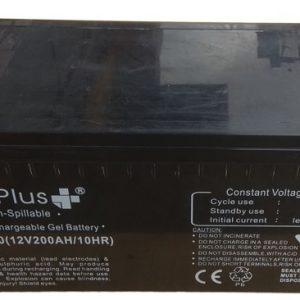 Bateria GEL 12V 200Ah