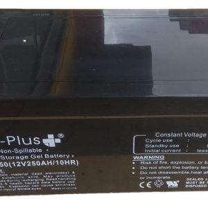 Bateria GEL 12V 250Ah